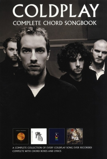 Coldplay: Complete Chord Songbook: Guitar Chords (A5 Size)