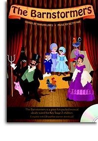 The Barnstormers: Kids Musical: Keystage 2: Bookandcd (Lines/Roe)