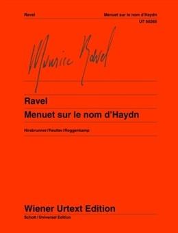 Menuet Sur Le Nom D Haydn: Hommage To Haydn: Piano (Wiener Urtext)