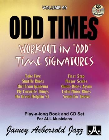 Aebersold Vol.90: Odd Times: All Instruments: Book & CD