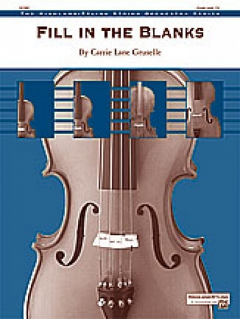 Fill In The Blanks: Highland String Orchestra Series: Score and Parts (Gruselle)