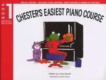 Chesters Easiest Piano Course (Special Edition): Book 1  (Includes Extra Material)