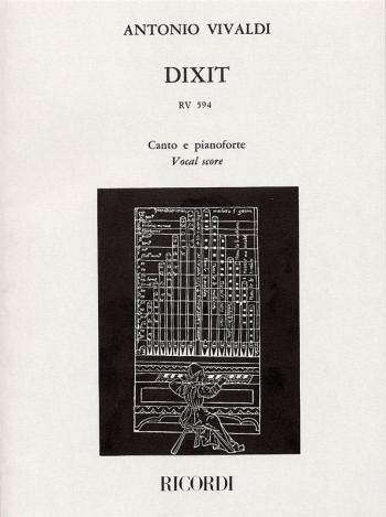 Dixit Dominus: Rv594: Vocal Score