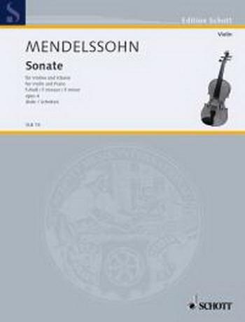 Sonata F Minor: Violin and Piano
