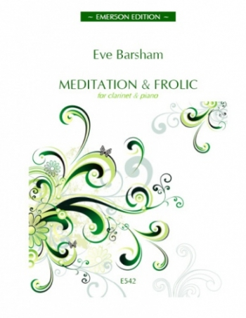 Meditation and Frolic: Clarinet & Piano (Emerson)
