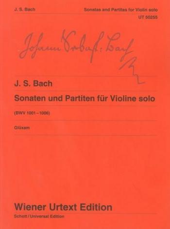 Sonatas and Partitas For  Violin Solo: Bwv1001-1006 (Wiener Urtext)