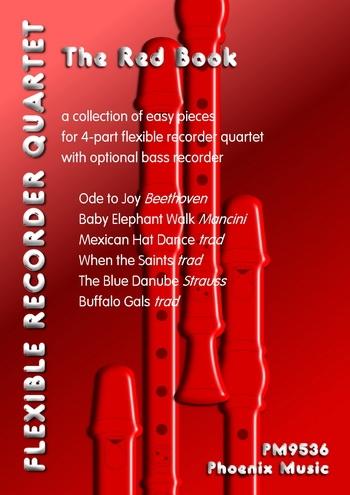 Flexible Recorder Quartet: The Red Book: Grade 3-4