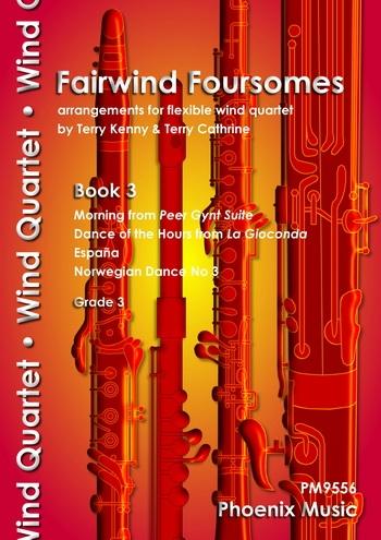 Fairwind Foursomes - Book 3 - Flexible Wind Quartet - Grade 3