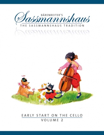 Sassmannshaus Tradition. Early Start On The Cello, Volume 2 (Barenreiter)