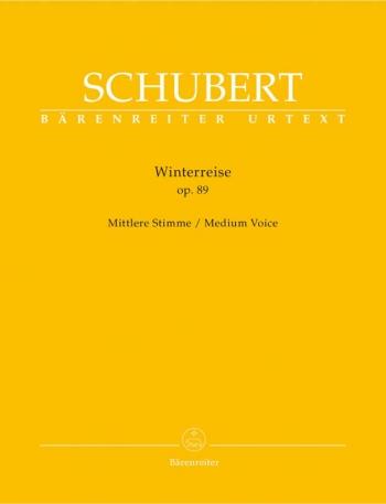 Winter Journey The: Op89 (Die Winterreise): Medium Voice and Piano: Urtext (Barenreiter)