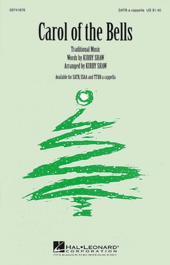 Carol Of The Bells: Vocal: SAtb (Kriby Shaw)