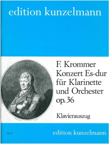 Concerto In Eb Op36: Clarinet & Piano (Kunzelmann)