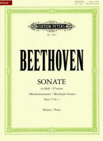 Piano Sonata C# Minor Op.27/2 (Moonlight): Piano  Urtext (Peters)