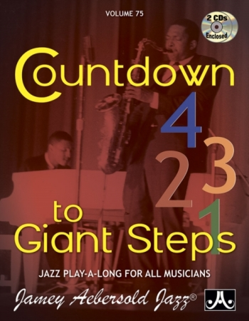 Aebersold Vol.75: Countdown To Giant Steps: All Instruments: Book & CD