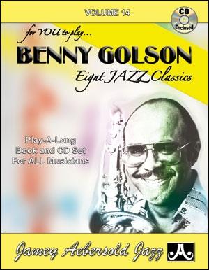 Aebersold Vol.14: Benny Golson: Jazz: All Instruments: Book & CD