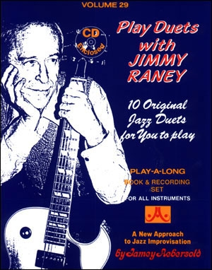 Aebersold Vol.29: Play Duets With Jimmy Raney: For All Instruments: Book & CD