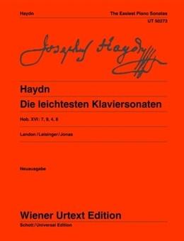 Die Leichtesten Klaviersonaten: Easiest Piano Sonatas: Hob 16 7/9/4/8: Piano (Wiener Urtext)