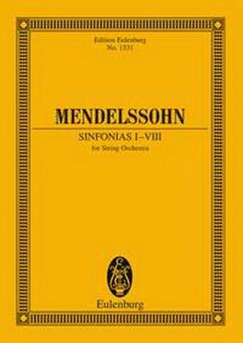 Symphonias: 1-8: Miniature Score