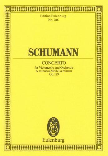 Concerto: A Minor: Op129: Miniature Score