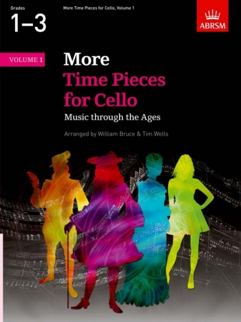 More Time Pieces For Cello Vol.1: Cello & Piano (ABRSM)