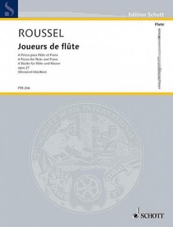 Joueurs De Flute: 4 Pieces For Flute and Piano (Schott)