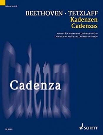 Cadenzas: Concerto: D Major: Violin (Schott)