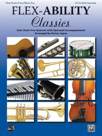 Flexability Classics: Oboe/Guitar/Piano/Electric Bass (lopez)