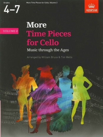 More Time Pieces For Cello Vol.2: Cello & Piano (ABRSM)