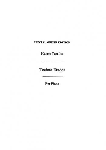 Techno Etudes: Piano (Chester Ed)