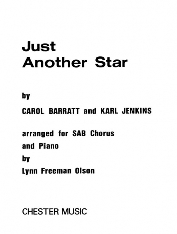 Just Another Star: SAB: Vocal (Karl Jenkins)