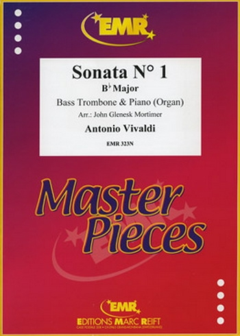 Vivaldi: Sonata: No1: Bb Major: Bass Trombone