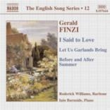 I Said To Love (The English Song Series 12)