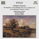 Clarinet Concerto (Five Bagatelles)  Naxos CD