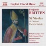 St. Nicolas (Christs Nativity): Naxos CD