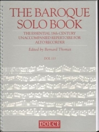 Baroque Solo Book: Treble Recorder (DOL109) (thomas)