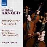 String Quartets Nos. 1 And 2: Naxos CD