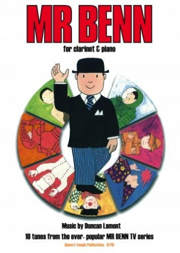 Mr Benn: 10 Tunes From The Series: Clarinet & Piano