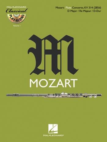 Concerto D Major K314:  Flute: Book & Cd  (Classical Playalong)