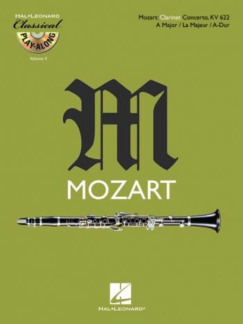 Clarinet Concerto: A Major: K622: Bb Clarinet: Book & CD (De Haske)