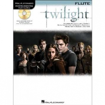 Instrumental Play-Along: Twilight: Flute: Book & CD