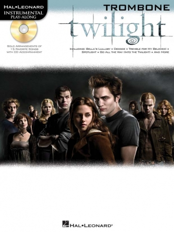 Instrumental Play-Along: Twilight: Trombone: Book And Cd