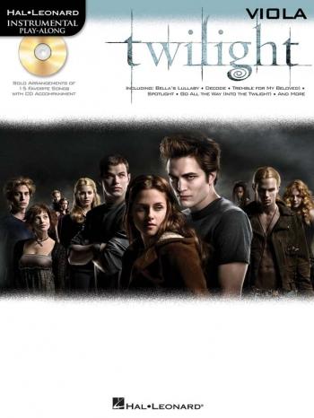 Instrumental Play-Along: Twilight: Viola: Book And Cd