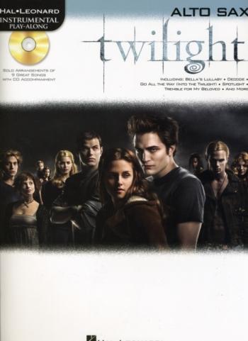 Instrumental Play-Along: Twilight Saga: New Moon: Alto Saxophone: Book And Cd