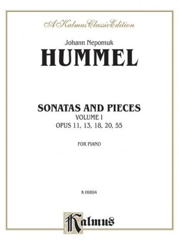 Sonatas And Pieces Vol.1: Piano (Kalmus)