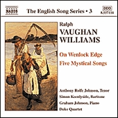On Wenlock Edge: Naxos CD