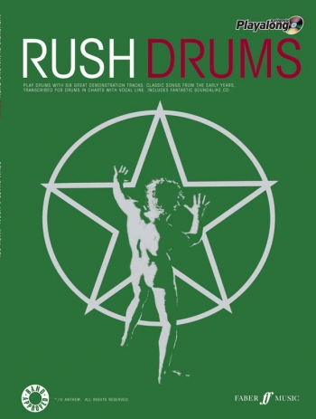 Authentic Playalong: Rush Drums: Book & CD