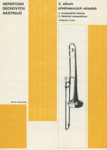 Selected Compostions For Trombone And Piano Vol 2 (Various)