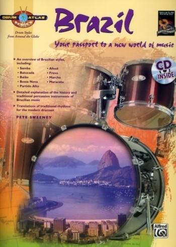 Drum Atlas Series: Brazil: Book & CD