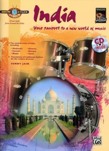 Drum Atlas Series: India: Book & CD