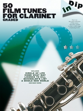 50 Graded Film Tunes: Dip In: Clarinet